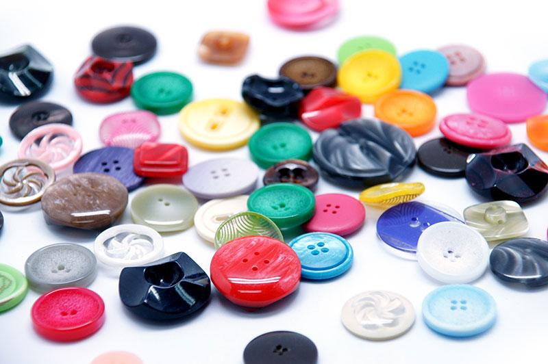 botão polyester 007
